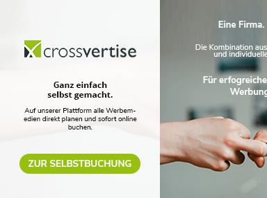 crossvertise - Werbung einfach buchen