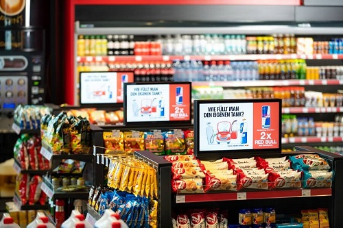 Digital Out-of-Home am Point-of-Sale