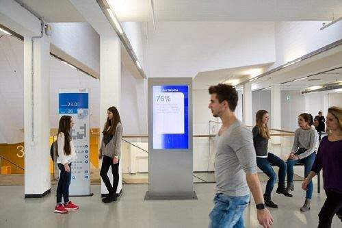 Digital Out-of-Home an Unis und Hochschulen