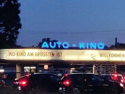 Werbung in Autokinos