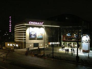 Werbung im Cinemaxx Hamburg