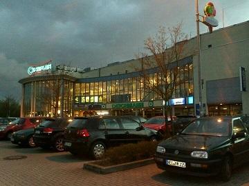 Werbung im Cineplex Elmshorn