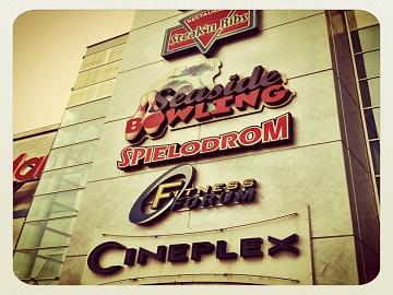Werbung im Cineplex Friedrichshafen