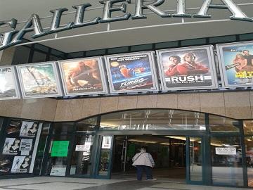 Werbung im Cineplex Galleria Euskirchen