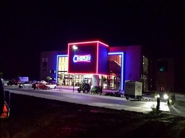 Werbung im Cineplex Penzing