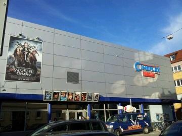 Werbung im Cineplex Reutlingen