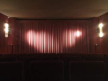 Kinowerbung Capitol Marburg