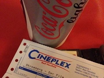 Kinowerbung Cineplex Bad Hersfeld
