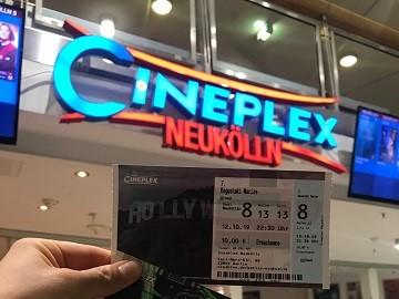Kinowerbung Cineplex Berlin Neukölln