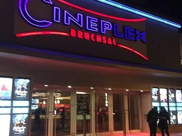 Kinowerbung Cineplex Bruchsal