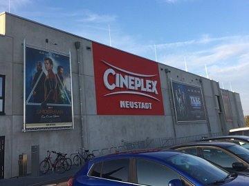 Kinowerbung Cineplex Neustadt