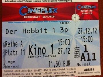 Kinowerbung Cineplex Saalfeld