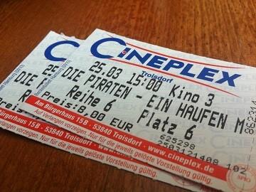 Kinowerbung Cineplex Troisdorf