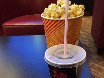 Werbung im Cineplex Lörrach