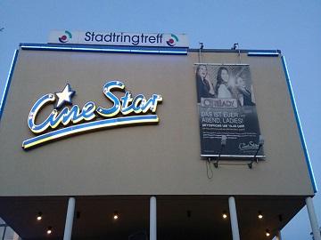 Werbung im CineStar Neubrandenburg