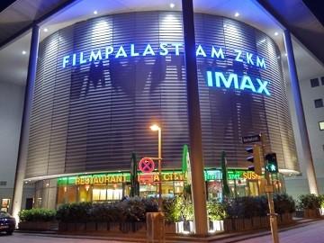 Kinowerbung Filmpalast am ZKM Karlsruhe
