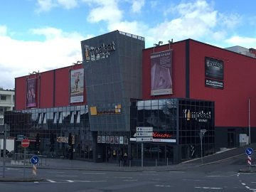 Kinowerbung Filmpalast Iserlohn