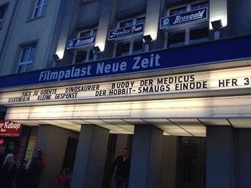 Kinowerbung Filmpalast Neue Zeit Nordhausen