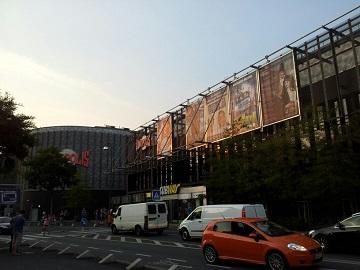 Werbung im Kinopolis Bonn