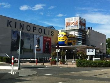 Werbung im Kinopolis Sulzbach
