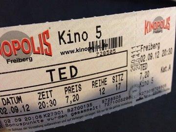 Kinowerbung Kinopolis Freiberg