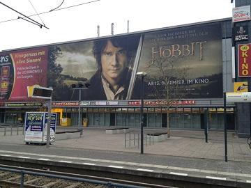 Werbung im UCI Kino Berlin