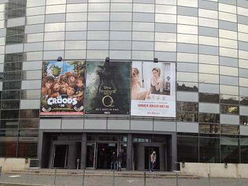 Werbung im UCI Kino Düsseldorf