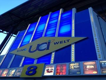 Werbung im UCI Kino Kaiserslautern