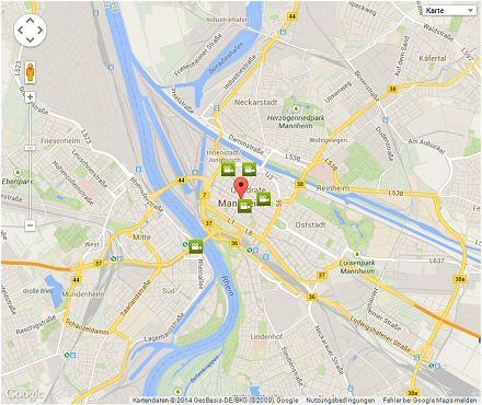 Kinowerbung in Mannheim