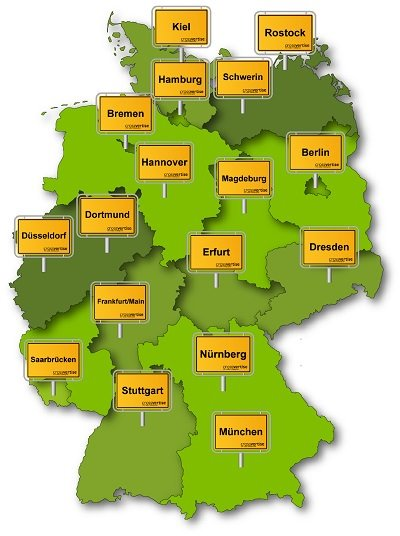 Geomarketing - Regionale Werbung in Ihrer Stadt