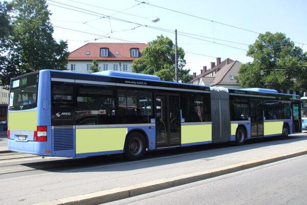 Teilgestaltung Bus