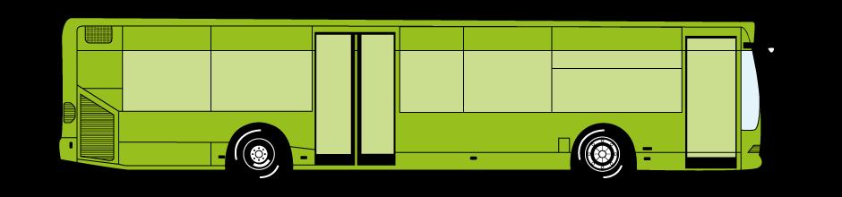 Ganzgestaltung Bus