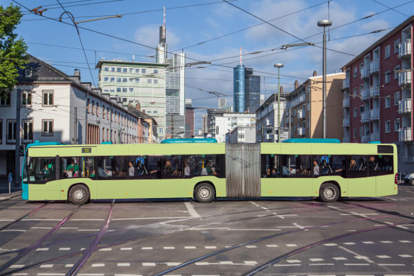 Verkehrsmittelwerbung in Erlangen