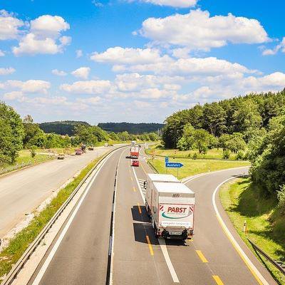 Autobahnwerbung