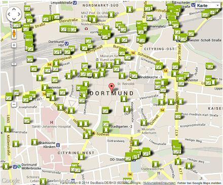 Werbeflächen in Dortmund