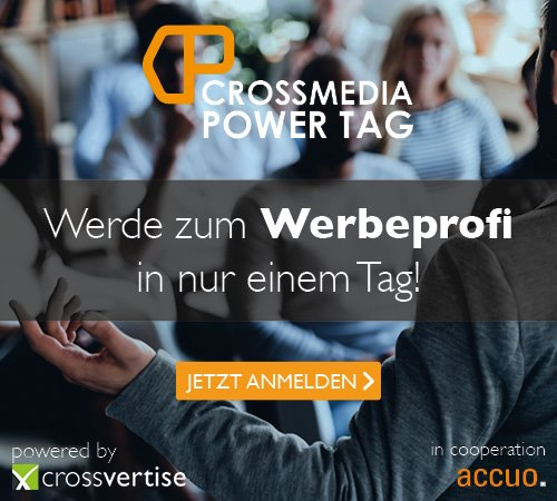 Workshop: crossmedial werben!