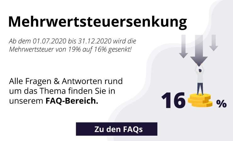 Mehrwertsteuersenkung 16%