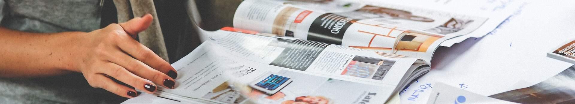 Printwerbung im Überblick