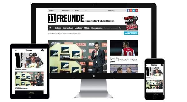 Werbung auf 11freunde.de buchen