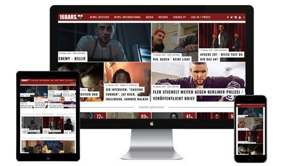 Werbung auf 16bars.de buchen