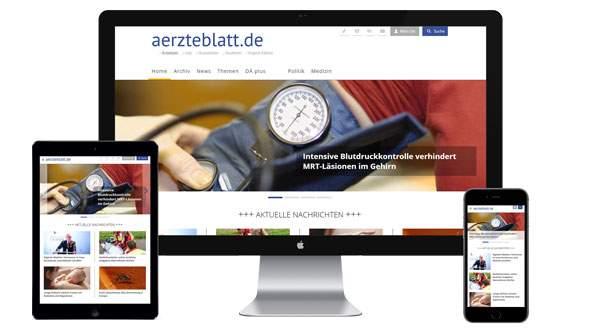 Werbung auf aerzteblatt.de buchen