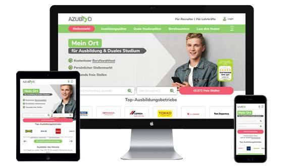 Werbung auf azubiyo.de buchen
