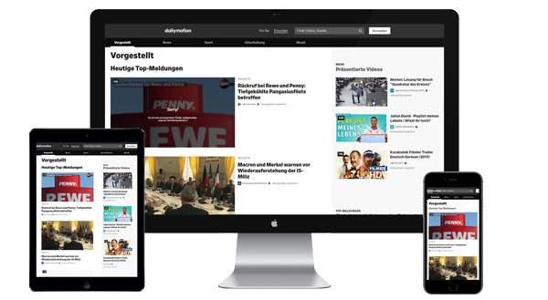 Werbung auf dailymotion.com buchen
