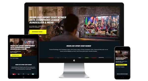 Werbung auf dazn.com buchen