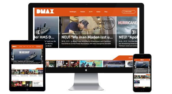 Werbung auf dmax.de buchen