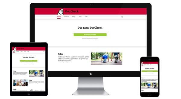 Werbung auf DocCheck.de buchen