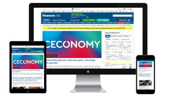 Werbung auf finanzen.net buchen