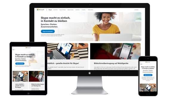 Werbung auf skype.com buchen