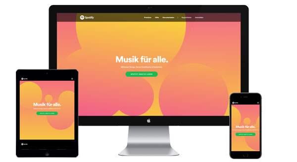 Werbung auf Spotify