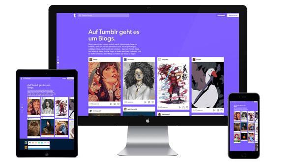 Werbung auf tumblr.com buchen